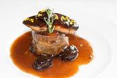 Steak s foie gras