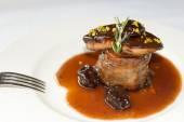 Foie kolem steak