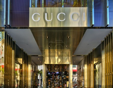 Gucci Retail Store Exterior