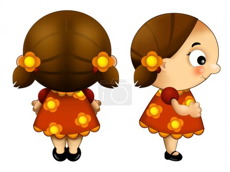 Photo for Happy and colorful illustration for children - Royalty Free Image