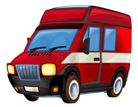 Cartoon firetruck illustration