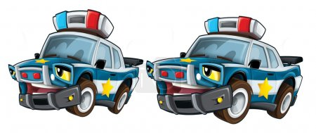 Cartoon police - caricature