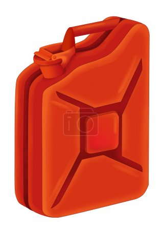 Photo for Cartoon canister illustration - Royalty Free Image