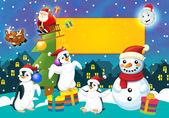 Barevné Vánoce - přání