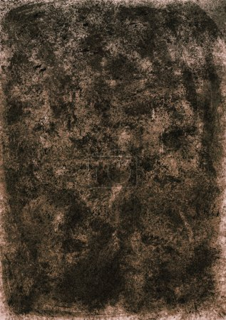 Dark brown abstract watercolor background