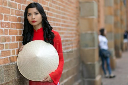 Attractive young Vietnamese woman