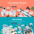 Concepts for web banner and promotional material...