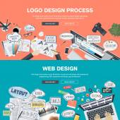 Concepts for web banner and promotional material