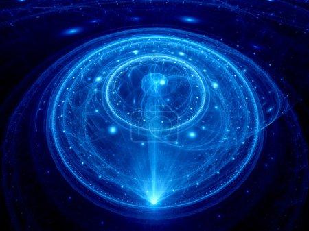 Dimensional gate in space
