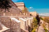 Krásný výhled na pevnost Budapešť