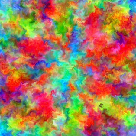 Abstract rainbow color paint splash art grunge background