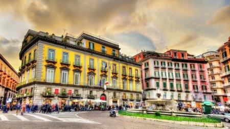 Piazza Trieste e Trento in Naples