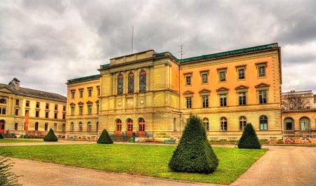 Photo pour Uni Bastions, le plus vieux bâtiment de l'Université de Genève - Suisse - image libre de droit