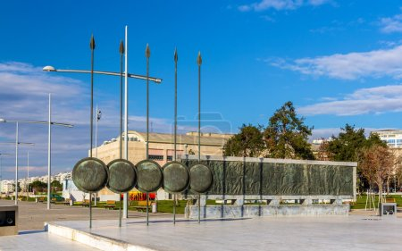 Photo for Monument of Alexander The Great in Thessaloniki, Greece - Royalty Free Image