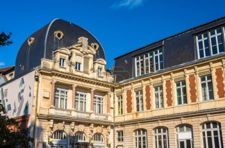 Buildings in the city centre of Besancon - France
