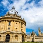 Постер, плакат: Radcliffe Camera the library of Oxford Univesity England