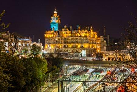 Photo for Waverley Railway Station in Edinburgh - Scotland - Royalty Free Image