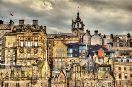 Photo for View of the city centre of Edinburgh - Scotland - Royalty Free Image