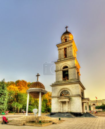 Photo for Bell tower of the Nativity Cathedral in Chisinau - Moldova - Royalty Free Image