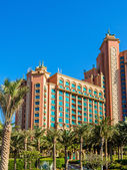 "Постер, картина, фотообои ""Атлантида, отель palm в Дубаи, ОАЭ"""