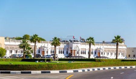 The palace of Sheikh Hamdan bin Rashid Al Maktoum in Dubai