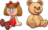 Medvídek a panenka
