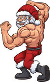 Strong Santa Claus