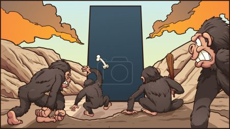 Monkeys and monolith