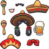 Mexican party props