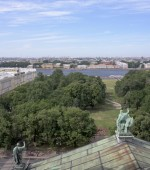 View of St. Petersburg from the viewing point of St. Isaac's Cat