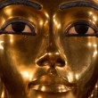 Up close shot of King Tut...