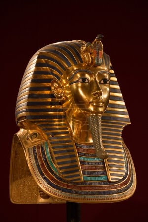 Front side view of King Tut's Death mask...