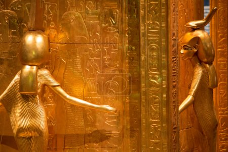 Ancient egyptian gold statue...