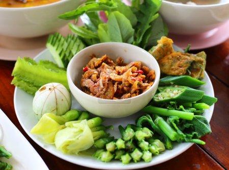 """Thai cuisine Shrimp paste sauce  """"Nam prig goong seap"""""""