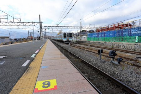 train station at japan