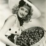 Cherry picking woman...
