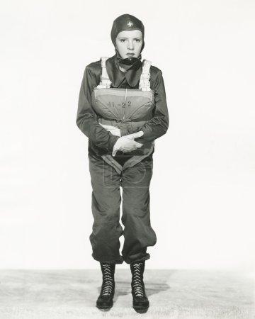 young Parachute nurse
