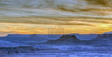 Photo pour Canyonlands National Park est un parc national des États-Unis situé dans le sud-est de l'Utah près de la ville de Moab - image libre de droit