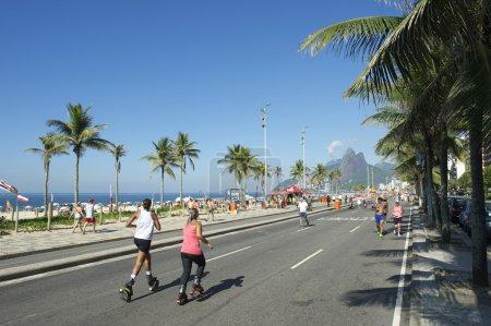 Brazilian Women Rebound Shoes Rio de Janeiro Brazil