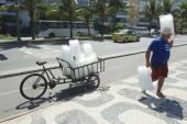 Jég az szállító szállítási Rio de Janeiro, Brazília