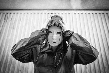 Female masked killer
