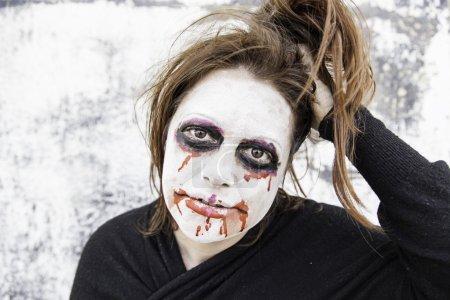 Strange and crazy girl
