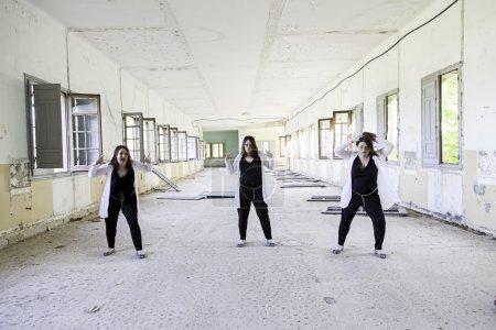 Abandoned house girls