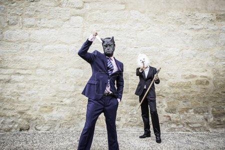 Murderers fear masks