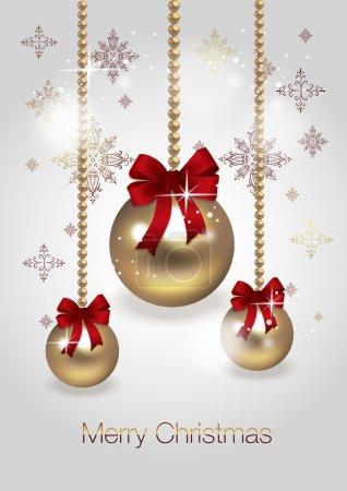 new year Christmas balls