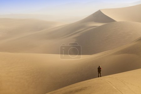 Dunes of desert
