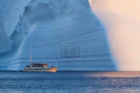 Huge icebergs of Greenland
