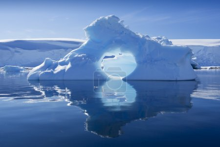 Nature and landscapes of Antarctic