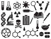 Chemické ikony nastavit
