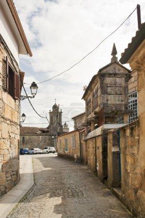 Old street in Vilanova de Arousa
